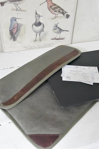 Laptop-veske i kanvas