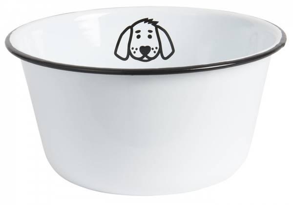 Hundeskål til medium/stor hund i emalje
