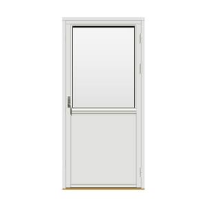 Bilde av H-balkongdøren Standard Tre 100x210 (99x209)
