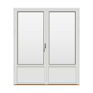 Bilde av H-balkongdøren Standard Tre 2-fløyet 180x210 (179x209)