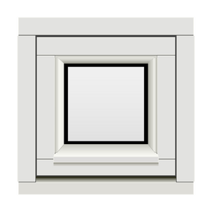 Bilde av H-vinduet sidesving 1 rams 40 x 40 (39x39)