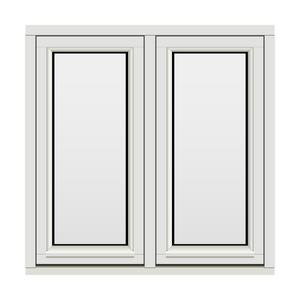 Bilde av H-vinduet sidesving 2 rams 100x100 (99x99)