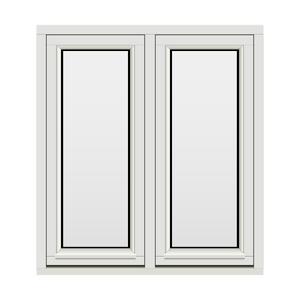 Bilde av H-vinduet sidesving 2 rams 100x110 (99x109)