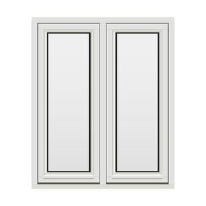 Bilde av H-vinduet sidesving 2 rams 100x120 (99x119)