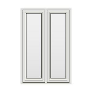 Bilde av H-vinduet sidesving 2 rams 100x150 (99x149)