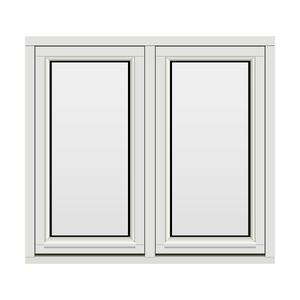 Bilde av H-vinduet sidesving 2 rams 110x100 (109x99)