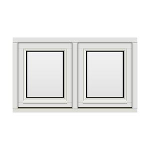 Bilde av H-vinduet sidesving 2 rams 100x60 (99x59)