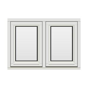 Bilde av H-vinduet sidesving 2 rams 100x70 (99x69)