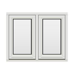 Bilde av H-vinduet sidesving 2 rams 100x80 (99x79)