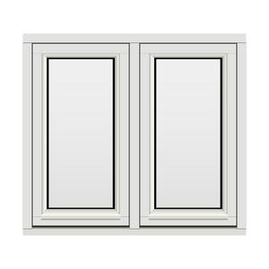 Bilde av H-vinduet sidesving 2 rams 100x90 (99x89)