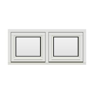Bilde av H-vinduet sidesving 2 rams 110x50 (109x49)