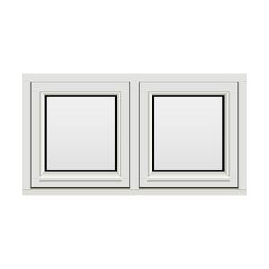 Bilde av H-vinduet sidesving 2 rams 110x60 (109x59)