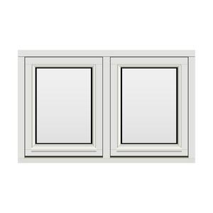 Bilde av H-vinduet sidesving 2 rams 110x70 (109x69)