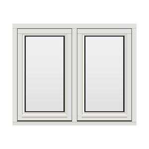 Bilde av H-vinduet sidesving 2 rams 110x90 (109x89)