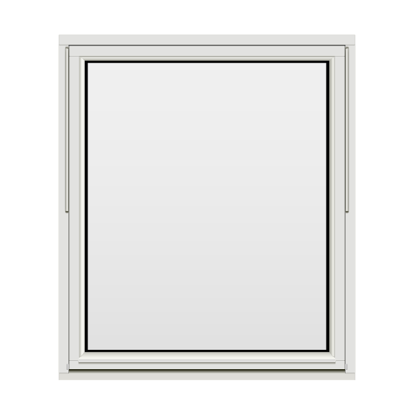 H-vinduet® Toppsving 120x140 (119x139) 2-lags Sol/Rens/Lyd Tre