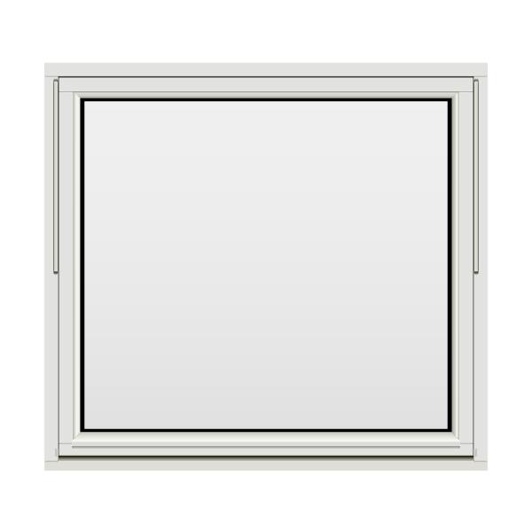 H-vinduet® Toppsving 130x120 (129x119) 3-lags Tre