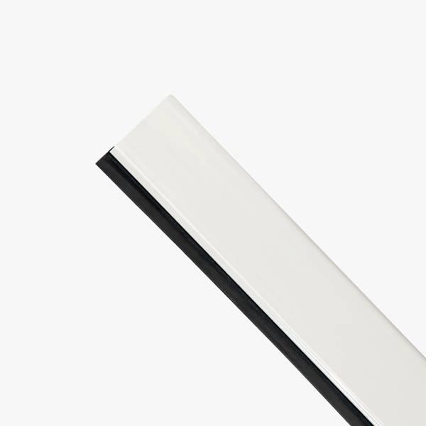 Glasslist Side/Topp PVC 26,5x17mm L2240mm Hvit