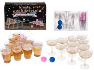 Bilde av Drikkespill Pong battle- PROSECCO vs BEER