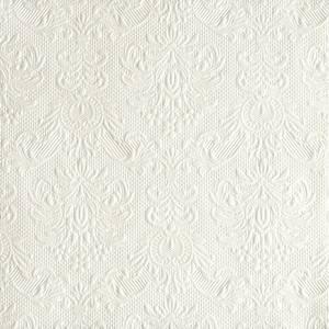 Bilde av Servietter Ambiente 33 Elegance Pearl White
