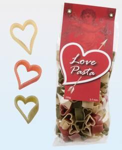 Bilde av Hjertepasta med 3 farger og smak