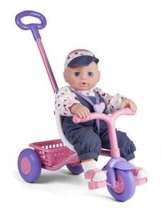 Bilde av My Baby Dukke 43cm med sykkel