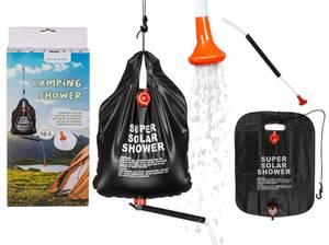 Bilde av Camping dusj med utstyr, sort pose 37x48cm 10L
