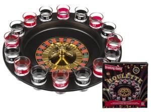Bilde av Drikkespill Roulette med 16 glass og 2 baller