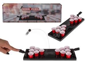 Bilde av Drikkespill Beer Pong med spillbord, mini. 12