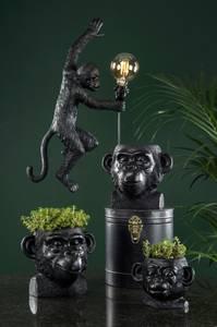 Bilde av Vegglampe Ape sort/Brun poly 26x10x62cm