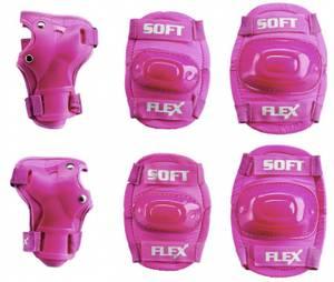 Bilde av Beskyttelsessett rosa 3-7 år