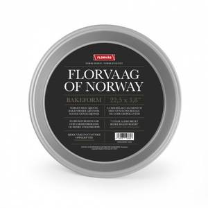 Bilde av FLORVAAG BAKEFORM SØLV Ø22.5CM
