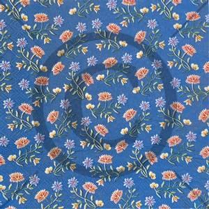 Bilde av Serviett Nordlandsbunad blå 16pk,33x33cm