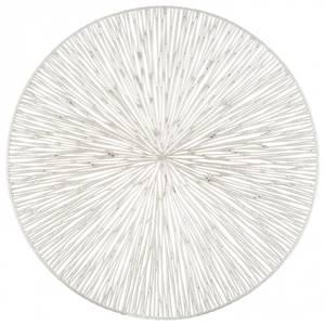 Bilde av Dekkebrikke PVC-kutt Sølv 39cm
