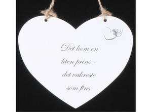Bilde av Metallskilt hjerte