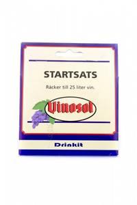 Bilde av VINOSOL STARTSATS (gjær+næring)