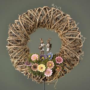 Bilde av Blomst på pinne 3cm mix