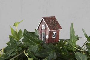 Bilde av Hus på pinne 3x4cm