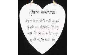 Bilde av Metallskilt hjerte Kjære mamma… Str: 16x17,5cm