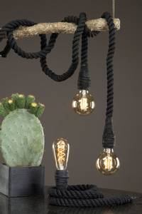 Bilde av Lampe Tau Sort 150cm