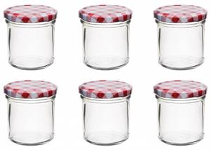 Bilde av Glasskrukke for mat. 6pk, 167ml