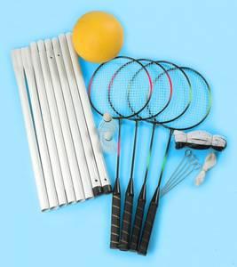 Bilde av Volleyball- og badmintonsett