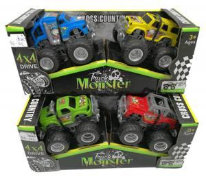 Bilde av Monster trucks små 2pk, 2 ass farger i pk