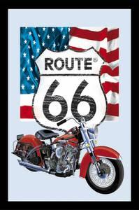 Bilde av Pubspeil Route 66, 32x22cm