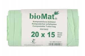 Bilde av Bio søppelpose 15L 20 stk åp rull