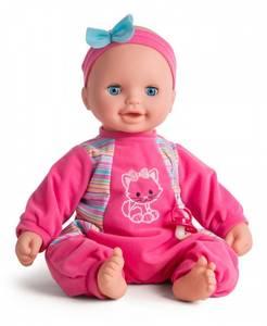 Bilde av MY BABY Laura Beanbag dukke 46cm, finnes i Rosa
