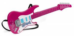 Bilde av Elektrisk Rock Guitar Rosa