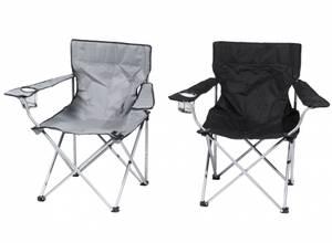 Bilde av Campingstol med koppholder og armlene