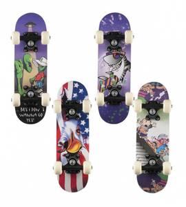 Bilde av Skateboard mini 43cm 4 ass motiv