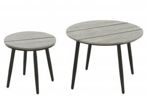 Bilde av 4Living Hagebord polywood 2 bord i settet