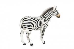 Bilde av Zebra stående Poly 33x12x26cm